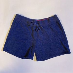 Justice Navy Blue Girl's Sweat Shorts